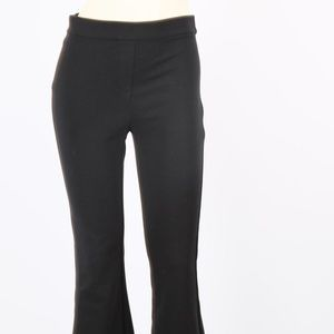 THEORY Black Flare Pants Trousers Size P